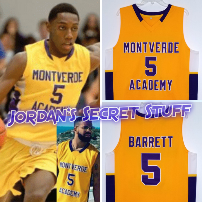RJ Barrett Montverde High School Basketball NYC New York Throwback Jersey