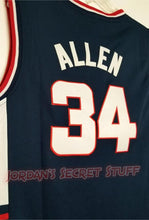 Load image into Gallery viewer, Ray Allen Huskies College Basketball Jersey Custom Throwback Retro College Jersey