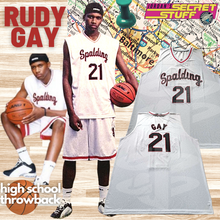 Load image into Gallery viewer, Rudy Gay High School Throwback Archbishop Spalding Baltimore Retro Jersey