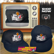 Load image into Gallery viewer, Say Their Names! Snapback Hat Basketball 90s JSS Exclusive BLM Cap