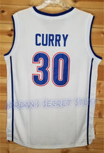 Load image into Gallery viewer, Stephen Curry Charlotte Christian High School Basketball Jersey Custom Throwback Retro Jersey