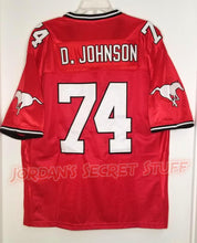 Load image into Gallery viewer, Dwayne Johnson Football Canada Practice Squad Jersey