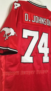 Dwayne Johnson Football Canada Practice Squad Jersey