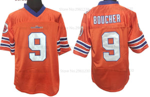 FLASH SALE! Bobby Boucher The Waterboy Movie #9 Football Jersey Custom Throwback 90's Retro Movie Jersey