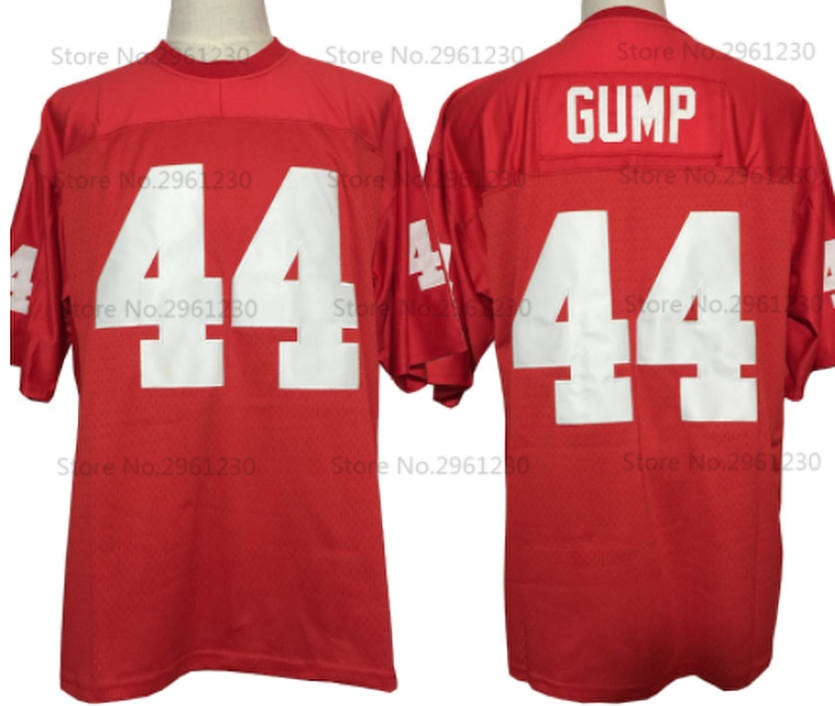 best sneakers d9339 1a141 Forrest Gump Movie Alabama Falcons #44 Football Jersey | Custom Throwback  90's Retro Movie Jersey