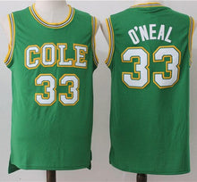 Load image into Gallery viewer, Shaquille O'Neal Cole High School Basketball Jersey Custom Throwback Retro Jersey