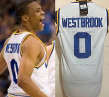 Load image into Gallery viewer, Russell Westbrook UCLA College Jersey Basketball Jersey (Home) Custom Throwback Retro College Jersey