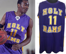 Load image into Gallery viewer, John Wall Holy Rams High School Basketball Jersey Custom Throwback Retro Jersey