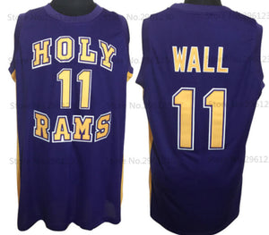John Wall Holy Rams High School Basketball Jersey Custom Throwback Retro Jersey