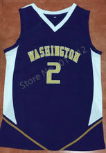 Load image into Gallery viewer, Nate Robinson Washington College Basketball Jersey Custom Throwback Retro College Jersey