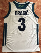 Load image into Gallery viewer, Goran Dragic Slovenia EuroLeague Basketball Jersey Custom Throwback Retro Jersey