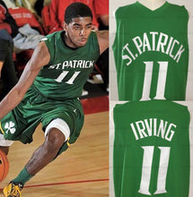 Load image into Gallery viewer, Kyrie Irving St. Patrick High School Basketball Jersey (Away) Custom Throwback Retro Jersey
