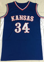 Load image into Gallery viewer, Paul Pierce Kansas College Basketball Jersey Custom Throwback Retro College Jersey