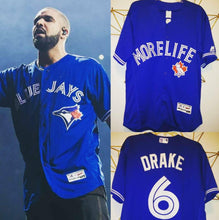 Load image into Gallery viewer, Drake Blue Jays Music Jersey