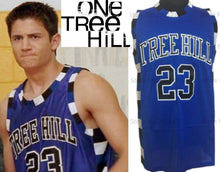 Load image into Gallery viewer, Nathan Scott One Tree Hill TV #23 Basketball Jersey (Blue) Custom Throwback Retro TV Show Jersey