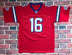 FLASH SALE! Shane Falco The Replacements Movie #16 Sentinels Football Jersey Custom Throwback Retro Movie Jersey
