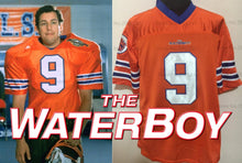 Load image into Gallery viewer, FLASH SALE! Bobby Boucher The Waterboy Movie #9 Football Jersey Custom Throwback 90's Retro Movie Jersey