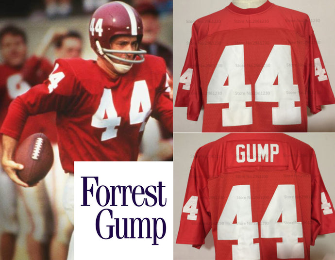 Forrest Gump Movie Alabama Falcons #44 Football Jersey Custom Throwback 90's Retro Movie Jersey