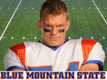 Load image into Gallery viewer, Thad Castle Blue Mountain State (BMS) TV #54 Football Jersey Custom Throwback Retro TV Show Jersey