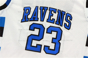 Nathan Scott One Tree Hill TV #23 Ravens Basketball Jersey Custom Throwback Retro TV Show Jersey