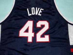 Kevin Love Lakers High School Basketball Jersey Custom Throwback Retro Jersey