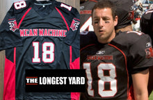 "Load image into Gallery viewer, Paul Crewe ""Mean Machine"" The Longest Yard Movie #18 Football Movie Jersey Custom Throwback Retro Movie Jersey"