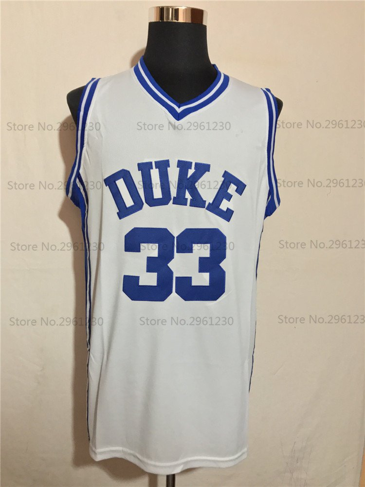 new product 8188b c0698 Grant Hill Duke College Basketball Jersey (Home) | Custom Throwback Retro  College Jersey