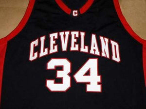 Nick Young Cleveland High School Basketball Jersey Custom Throwback Retro Jersey