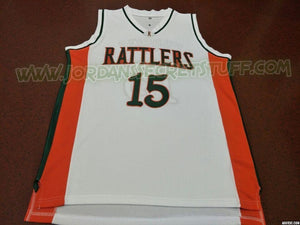 DeMarcus Cousins Rattlers High School Basketball Jersey Custom Throwback Retro Jersey