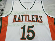 Load image into Gallery viewer, DeMarcus Cousins Rattlers High School Basketball Jersey Custom Throwback Retro Jersey