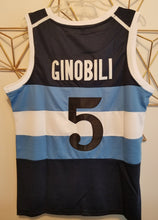Load image into Gallery viewer, FLASH SALE! Manu Ginobili Argentina Basketball Jersey | Custom Throwback Retro Jersey