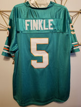 Load image into Gallery viewer, Ray Finkle Ace Ventura Movie Miami Dolphins Football #5 Movie Jersey Custom Throwback 90's Retro Movie Jersey