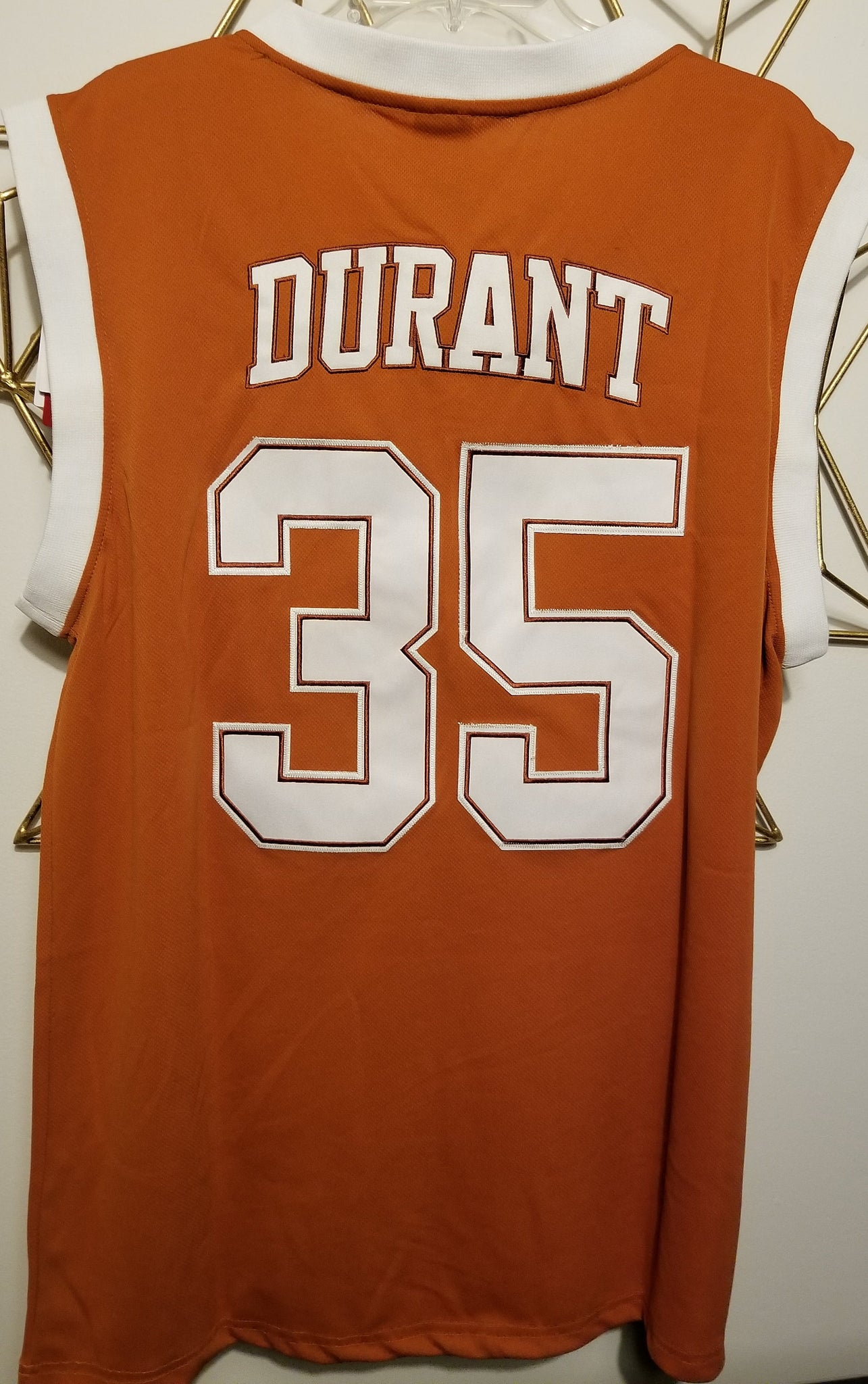 huge discount 2ee81 1992b Kevin Durant Texas College Basketball Jersey | Custom ...
