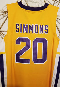 Ben Simmons Montverde High School Basketball Jersey Custom Throwback Retro Jersey