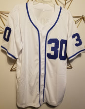 Load image into Gallery viewer, FLASH SALE! Benny Rodriguez The Sandlot Movie #30 Baseball Jersey Custom Throwback 90's Retro Movie Jersey