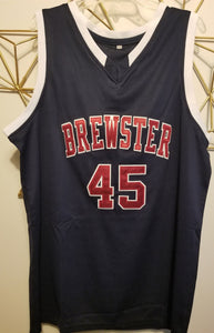 Donovan Mitchell Brewster High School Basketball Jersey Custom Throwback Retro Jersey