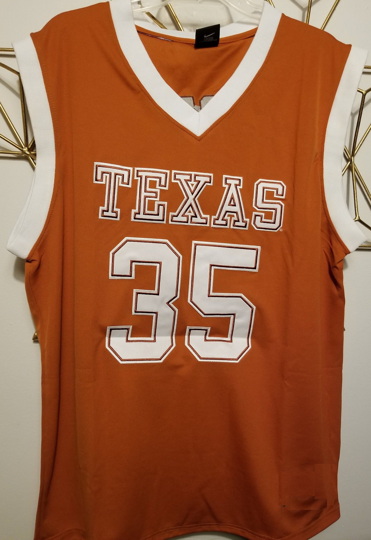 huge discount 8dfc5 71a9b Kevin Durant Texas College Basketball Jersey | Custom ...