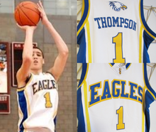 Load image into Gallery viewer, Klay Thompson Eagles High School Basketball Jersey (Home) Custom Throwback Retro Jersey