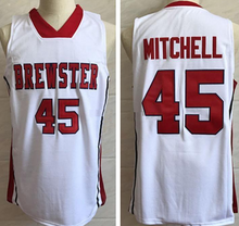 Load image into Gallery viewer, Donovan Mitchell Brewster High School Basketball Jersey Custom Throwback Retro Jersey