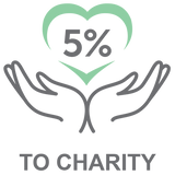 5 Percent to Charity