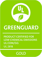 ShoppeForKids GREENGUARD Gold Certification Badge