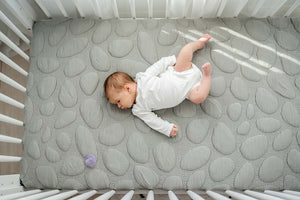 Nook Sleep Systems Dream Cotton Crib Mattress With Misty Pebble Cover