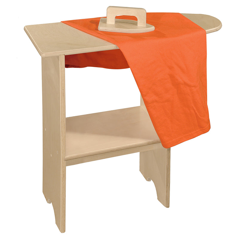 Wood Designs Kids Play Stationary Ironing Board with Iron