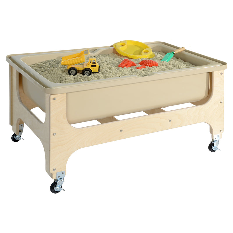 Wood Designs Tot Size Deluxe Sand and Water Table with Lid