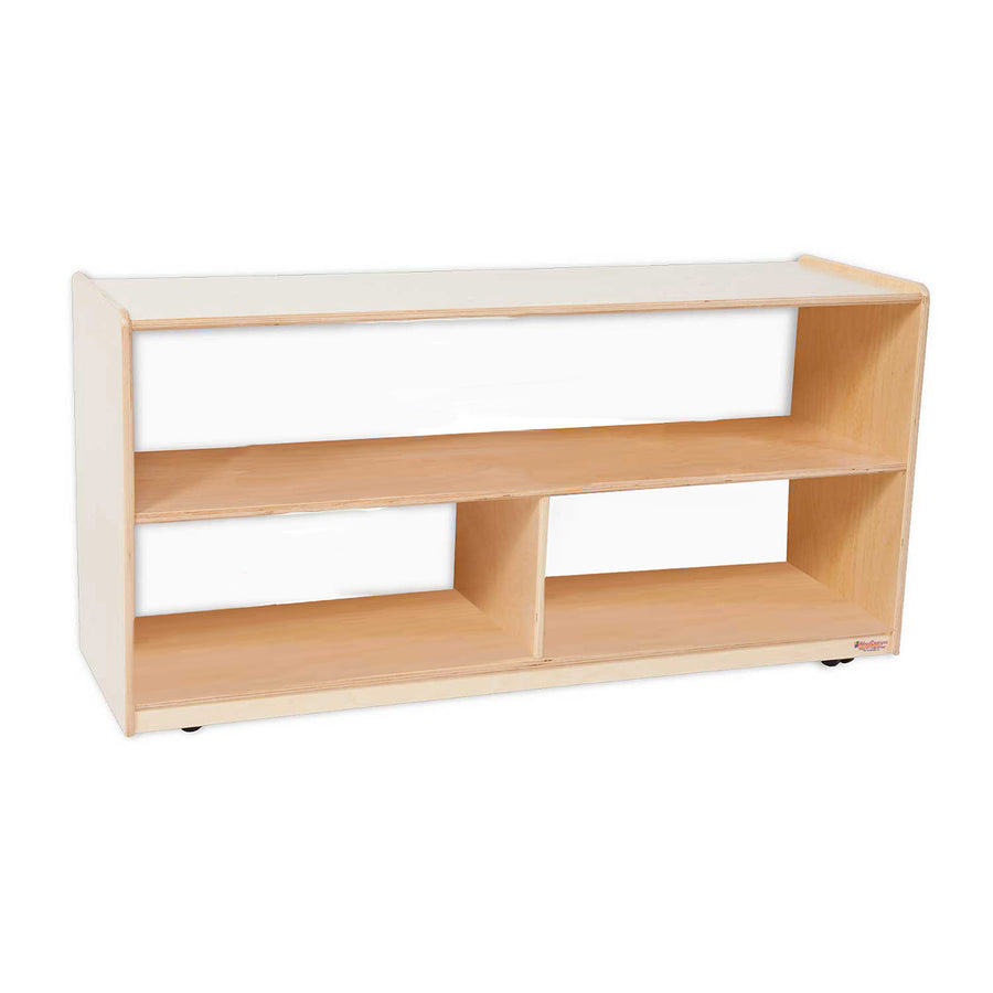 "Wood Designs Versatile Shelf Storage with Acrylic Back - 23-1/2""H"
