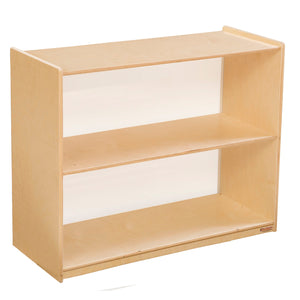 "Wood Designs Bookshelf with Acrylic Back - 29-1/16""H"