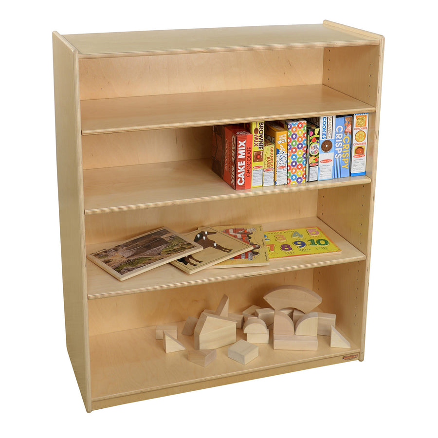 "Wood Designs Bookshelf with Adjustable Shelves - 42-7/16""H"