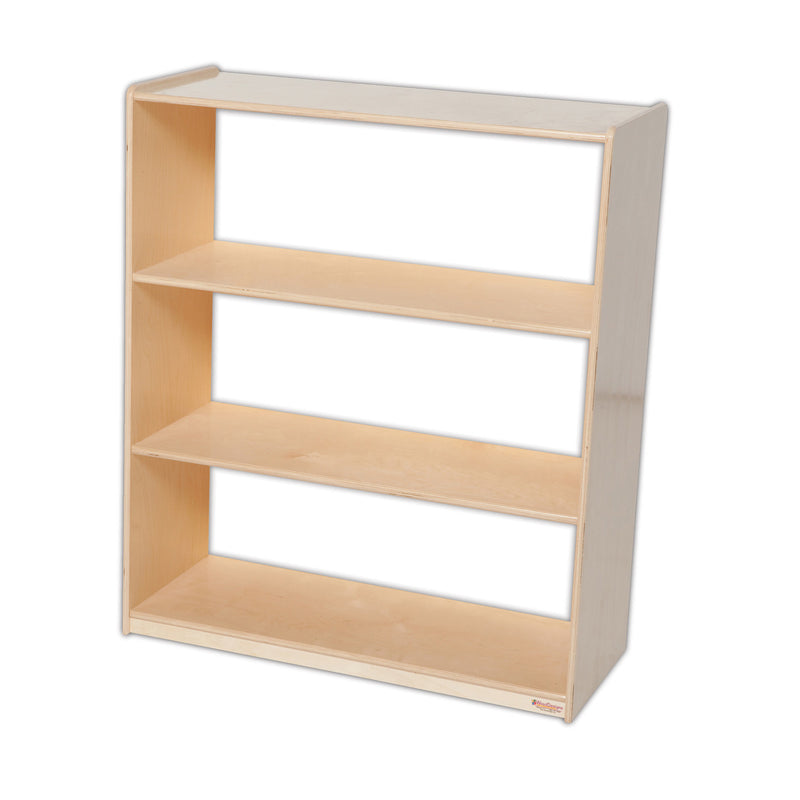 "Wood Designs Bookshelf with Acrylic Back - 42-7/16""H"