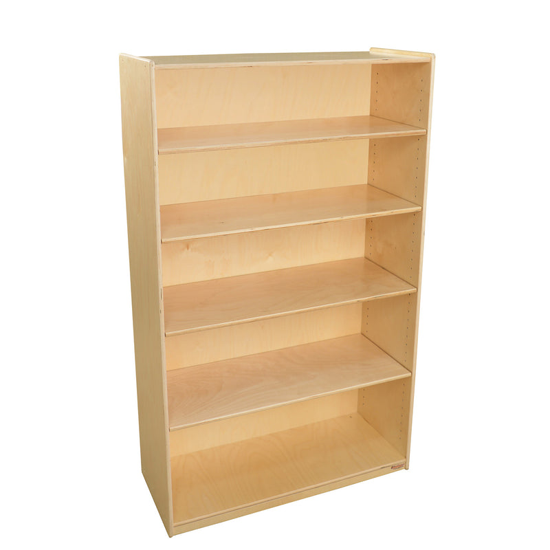 "Wood Designs Bookshelf with Adjustable Shelves - 59-1/2""H"