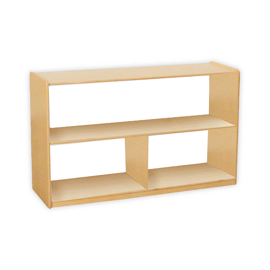"Wood Designs Versatile Shelf Storage with Acrylic Back - 30""H"